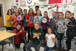 6th grade Coil Baskets