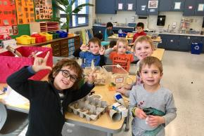 Kindergarten open studio